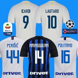 4c96f482126 18 19 Inter soccer jersey LAUTARO ICARDI PERISIC NAINGGOLAN milan football shirt  inter home 2018 2019 POLITANO AMBROSIO away maillot de foot