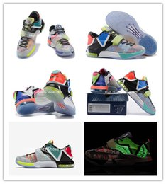 huge discount 8dbde 7776c KD7 VII Kevin Durant Glow In Dark Mens Basketball Shoes what the KD7 EP  Men s Kevin Durant 7s VII Men Shoes Size 7-12 MVP SE Glow In Dark