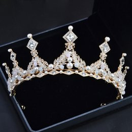 Orange Hair Feathers Australia - Wedding Crown Bridal Tiara Crown Rhinestone Wedding Accessories Hair Jewelry Accessories Women Pageant Prom