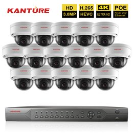 16ch Camera Australia - H.265 16CH 5MP POE CCTV NVR system 16Pcs HD 3MP IP66 VandalProof security Indoor Outdoor POE IP camera Video Surveillance Camera