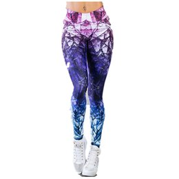 $enCountryForm.capitalKeyWord UK - New Hot Sale Women's Mixed Color High Waist Yoga Pants Quick-drying Elastic Digital Printed Sports Leggings GYM Fitness Trousers