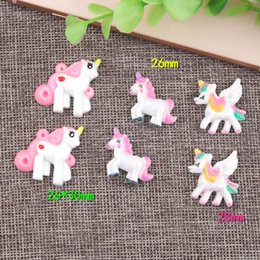 Mobile phone decorations online shopping - Diy Accessories Unicorn Shape Design Manual Material Science Resin Mobile Phone Shell Decoration Parts Kawaii Handmade Props pr Z