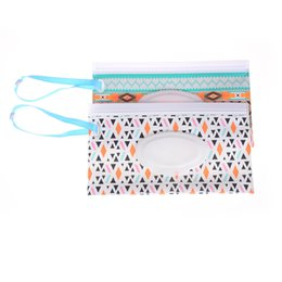 Baby Care Changing Pads & Covers Active Eco-friendly Wet Wipes Bag Clean Wipes Carrying Case Clamshell Cosmetic Pouch Easy-carry Wipes Container Random Send