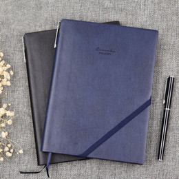 $enCountryForm.capitalKeyWord NZ - classic soft PU leather cover business notfor school office writing supply elegant travel diary book custom Logo gift