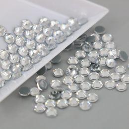 En gros Tous Les Taille Cristal Autrichien Correctif Strass 2028# Top Qualité Flatback Hot Fix Strass Xilion Rose (Cristal) en Solde