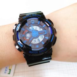 $enCountryForm.capitalKeyWord NZ - Hot Sale 2019 G Style Shock Watches for Men LED Analog Dual Display Quartz Wristwatches Waterproof Clock Military Sport Watch Time Saat