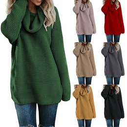 Pullover Women s Jumper Turtleneck Sweater Female Jumper Women Warm Sweater  Thin Winter Cable Knitted Oversized Sweater 7bb44c32c