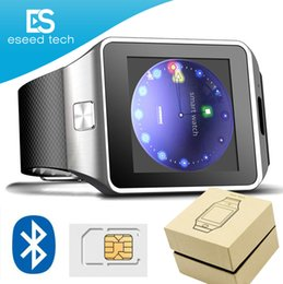 Camera Cans online shopping - DZ09 Smart Watch GT08 U8 A1 Wrisbrand Android Smart SIM Intelligent mobile phone watch with Camera can record the sleep state