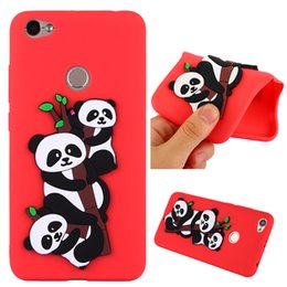 8ffbc5ed98 3d cute carton panda goophone phone case for xiaomi redmi note 5a redmi 4a  redmi 5a case silicone soft tpu full cover caus