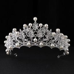 $enCountryForm.capitalKeyWord NZ - Big Korean wedding head ornaments, water drill, crown Bridal