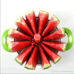 $enCountryForm.capitalKeyWord Canada - Free shipping New large Convenient Kitchen cooking Fruit Cutting Tools Melon Cutter Slicer Cutter Watermelon Cantaloupe Knife