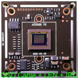 "$enCountryForm.capitalKeyWord Australia - AHD-M (720P)   CVBS (D1) 1 3"" Sony Exmor IMX225 CMOS + NVP2431 CCTV camera module PCB board +OSD cable +1080P LENs +IRC"