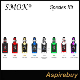 baby-touchscreen großhandel-Smok Species Kit W Art Mod mit TFV8 Baby V2 Tank Zoll Touch Screen Ausgabemodus Einstellung unabhängige Verriegelung Botton Authenti