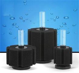 Vente en gros Organismes aquatiques Pratique Filtration de coton biochimique Aquarium Réservoir de poissons Bassin filtrant en éponge Matière filtrante Noir Couleur pure 8 5db3 bb