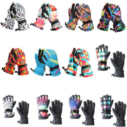 $enCountryForm.capitalKeyWord Canada - -30 Women Snow Gloves winter outdoor sports Mittens Waterproof Windproof Snowboarding outfits Five-finger Ski Glove High Quality