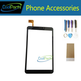 touch screen digitizer prestigio UK - 1PC Lot High Quality 8.0 Inch For Prestigio MultiPad Wize 3408 4G 3408 Tablet Touch Screen Digitizer With Tool&Tape Black Color