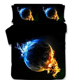 $enCountryForm.capitalKeyWord Australia - 3D Bed Sheets Queen Bedding Sets Sci-Fi Printing Pattern Duvet Covers New Style Stare Was Pillow Case Polyester King Size Mix Wholesale