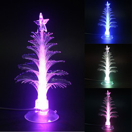 discount outdoor christmas light tree decoration home decoration fiber led christmas tree light colorful flashing - Cheapest Christmas Outdoor Lights Decorations