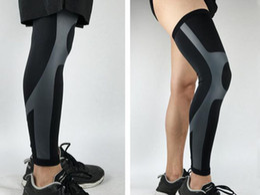 $enCountryForm.capitalKeyWord Canada - Compressed elastic sports knee pad professional basketball, football, cycling knee protector safety guard leg sleeves M LXL
