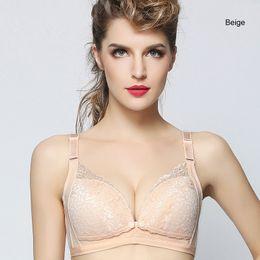 f4b726d2e95 2018 New Pregnant Underwear Clothes Lace Maternity Nursing Bra Front Button  Cotton Breastfeeding bra For Pregnant women Clothing Pregnancy
