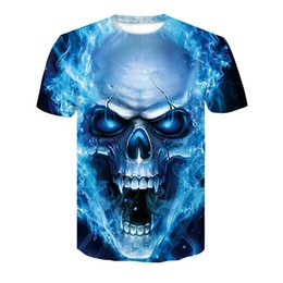 4d1a1beb959b 3D Printed Skull T-shirt for men Newest Fashion Designed Tees Tops Punk  Rock Style Man Quick Dry t shirt Plus Size S-4XL
