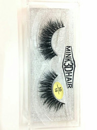 $enCountryForm.capitalKeyWord Canada - Professional 3D Mink Hair False Eyelashes Natural Long Thick Fake lashes 18 styles Brand New DHL Free YL004