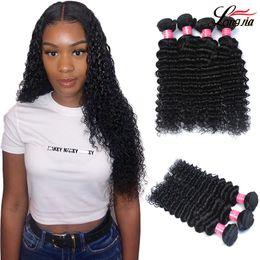 $enCountryForm.capitalKeyWord Australia - Malaysian deep wave Hair unprocessed deep wave curly hair bundles Malaysian deep wave Human Hair Extension natural color