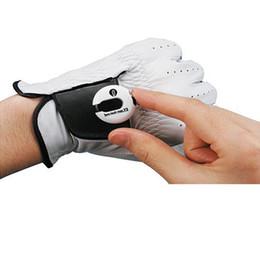 EZ Count Golf Handschuh Stroke Counter Score Keeper kleine einfache Clip auf Licht weiß