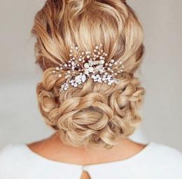 Hair For Weddings Hairstyles NZ - Rhinestone bridal comb bride wedding hair accessory bride hairstyle Bridal Headpiece for Bridesmaids hair comb Prom Accessory S918