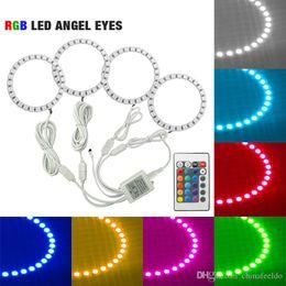 $enCountryForm.capitalKeyWord NZ - Car RGB LED Angel Eyes Halo Ring Light Wireless Remote Control Headlight for Toyota Camry (Euro US) 07 Camry (US) #3100