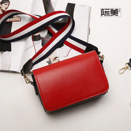 Red Messenger Bag For School Canada - PU leather simple new children's school bags kids travel messenger crossbody small phone pouches money bags for girls