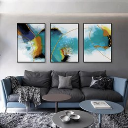$enCountryForm.capitalKeyWord NZ - Abstract living room decorative paintings sofa background oil painting modern minimalist triptych creative Nordic wall painting