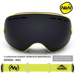 $enCountryForm.capitalKeyWord Australia - Nandn Brand Sport Professional Ski GoggleS Eyewear Anti-Fog UV400 Ski Glasses Points Mask Skiing Snowboard Men Women Snow Goggle