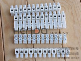 block wiring NZ - Wire Terminals Wiring Jack Extension Cord Post Terminal Block Fireproof 94-2 94-0 Nylon PA7 PA66 Case