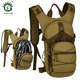 Hydration Backpack Running Australia - 15L Water Bag Molle Tactical Hydration Backpack Outdoor Camping Camelback, Nylon Camel Water Bladder Bag For Cycling
