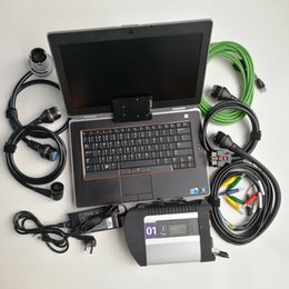used laptops Canada - High expert mode Automotive Repair Diagnostic used laptop Computers E6420 I5 4G+MB Star C4 Compact 4 SD connect C4+360GB SSD with soft-ware