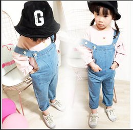 $enCountryForm.capitalKeyWord Canada - Baby Pants Girls 2018 New Arrival Trouser Jeans Denim Jumpsuit Overoles Kids Autumn Winter Hole Jeans Jumpsuits Clothes