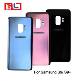 SamSung galaxy logo online shopping - Back Battery Cover Door Rear Glass Housing Replacements For SAMSUNG Galaxy S9 G960F S9 Plus G965F With Logo