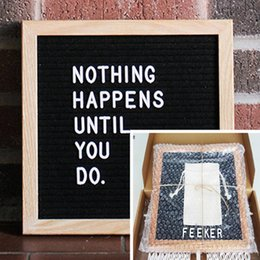 $enCountryForm.capitalKeyWord Australia - 10x10 Black Felt Letter Board 340 Characters Letters FREE Craft Knife Cloth Pouch Oak Wood Frame Easels DIY Message boards Christmas Gifts