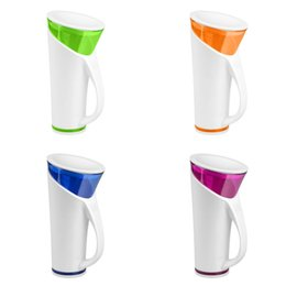 Travel sounds online shopping - Colourful Magic Cups Touch And Sound Sensitive Water Temperature Display Time Reminder Smart Cup Intelligent Induction Waters Bottle tc C