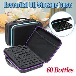 $enCountryForm.capitalKeyWord NZ - 60 Bottles 10ml Essential Oil Travel Case Holder Storage Aromatherapy Bag Box
