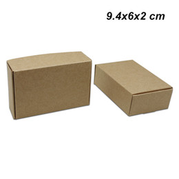 $enCountryForm.capitalKeyWord Canada - 9.4x6x2 cm 50 PCS Brown Kraft Paper Birthday Party Boxes for Candy Baking Handmade Soap Storage Boxes Kraft Paper Pack Box for Jewelry Pearl