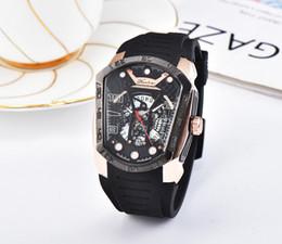 36259850cd19 Nuevo estilo de marca de lujo phantom relojes de alta calidad para hombre  reloj diseñador único impermeable relojes deportivos correa de caucho  movimiento ...