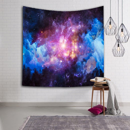 living clean 2019 - 3D Galaxy Hanging Wall Beautiful Tapestry Hippie Retro Home Decor Yoga Beach Towel For Living Room Bedroom Easy To Clean