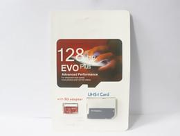 $enCountryForm.capitalKeyWord UK - 2019 Hot sale Top Selling popular 256GB 128GB 64GB 32GB EVO PLUS microSDXC Micro SD goog card UHS-I Class10 Mobile Memory Card