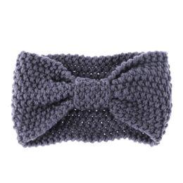 China 1 PC Fashion Girls Crochet Knotted Turban Knitted Headband for Women Wrap Hairband Winter Ear Warmer Turban Hair Accessories supplier winter accessories for women suppliers