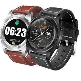 CS9 NFC MTK2502C Smartwatch монитор сердечного ритма 4.0 смарт-часы браслет носимых устройств для iOS Android Promotion S