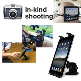 Stand Mount Holder For Tablet NZ - Car Headrest Mount Holder Car Windshield Mount Cell Phone Holder Bracket Stands for iPad Bracket Clip Holder for Tablet Kindle