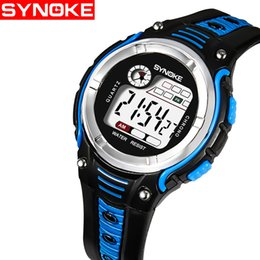 Watches Trustful Synoke Children Kids Watch Fashion Sanda Brand Led Digital Watches Waterproof Casual Clock Boy Girl Students Wristwatch For Gift With A Long Standing Reputation