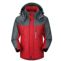 waterproof thermal jackets 2019 - Winter Down Jacket men Parkas thermal Velvet jacket coat Outwear men jackets Windbreaker jaqueta Windproof Waterproof co